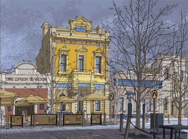 art, exhibition, port adelaide, adelaide, iconic, buildings, history, south australia