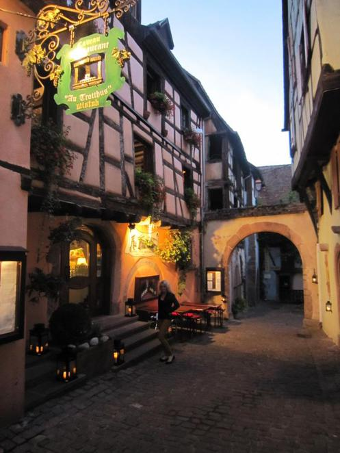 Au Trotthus, Alsace Wine region, France