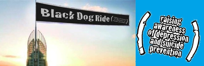 black dog ride, depression, suicide prevention, fund raising, gold coast, motorbike, charity