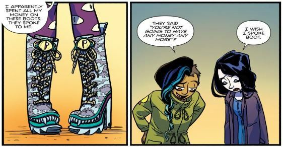 boots, Giant Days, Giant Days volume 1, boots