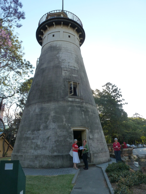 Brisbane Open House 2016,the Windmill tower,spring hill
