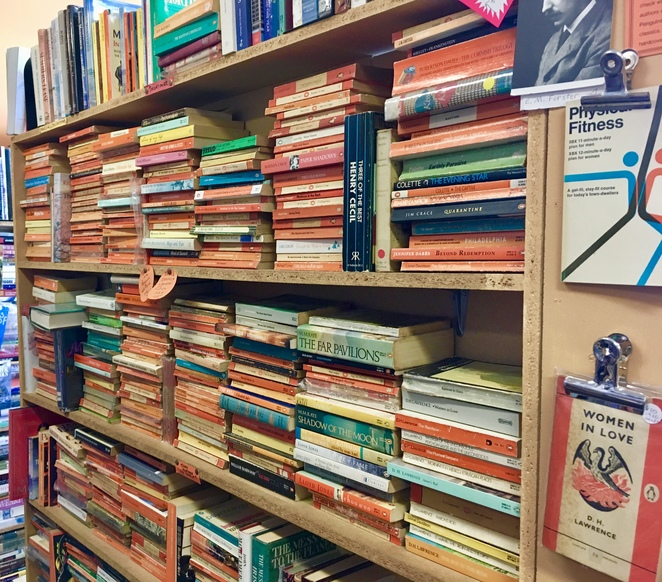 Brown Books Springwood, Image by Jade Jackson, Brown Books Secondhand and used books, secondhand bookshop Blue Mountains, Penguin classics Springwood