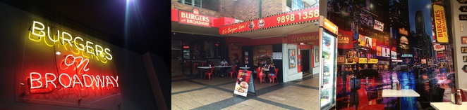 Burgers on Broadway, Ermington