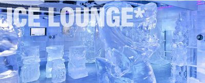 Chill out in the Ice Lounge
