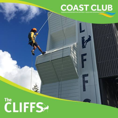 Coast Club School Holiday Adventure Activities, Gold Coast, Tallebudgera Leisure Centre, school holidays, parents, families welcome, Rock Face, indoor rock climbing, high ropes, stand-up paddle boarding, kayaking, straight up, giant swing, abseiling, body boarding, quick jumps, team rescue, surfing, canoeing, archery, morning sessions, afternoon sessions, full day sessions, swimming, rock climbing, register early