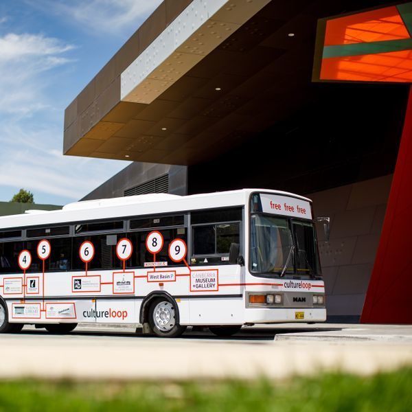 Cultural Loop Shuttle Bus Canberra