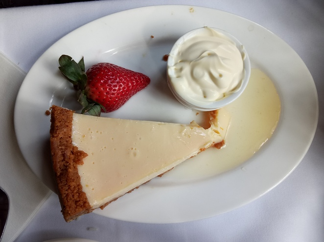 Dessert, key lime pie, steam and dine, puffing billy
