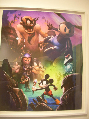 epic mickey, power of two, oswald, video game, wii