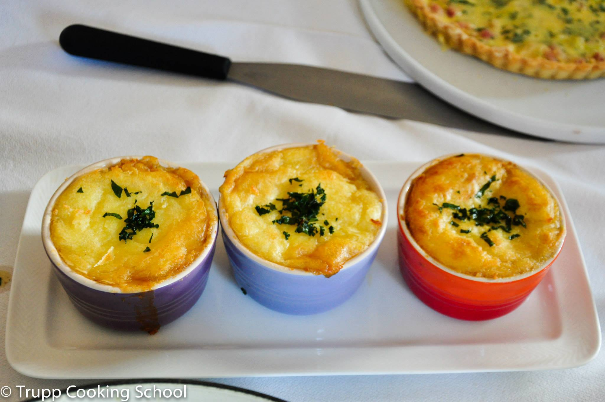 Traditional french cuisine class at trupp cooking school - Classical french cuisine ...