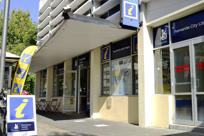 information visitor centre kings square fremantle western australia helpful friendly perth