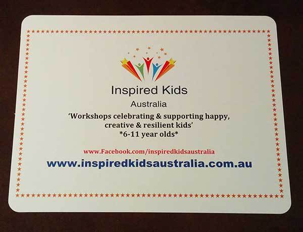 Inspired Kids Australia, Health, Wellness, Mindfulness, Kids, Children, Workshops