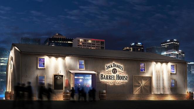 jack daniel's barrel house, crown melbourne riverwalk, southbank, entertainment, jack daniel's tennessee whiskey, community event, nightlife, entertainment, fun things to do, iconic music pop up, 40 australian artists, american smokehouse, san antone, american oak barrels, lynchburg tennessee quality, japanese wallpaper, alice ivy, dj mimi, dj pilerats, maribelle, muto, london topaz, jack's jukebox, nyck, evangeline, dorsal fins, maddy jane, diet, special guest djs, the hard aches, bugs, nicole millar, alexander gow, oh mercy, d'arcy spiller, william bloom, lanks, tora, asta, a.d.k.o.b, adkob, the aston shuffle, nocturnal tapes, gambit, fun things to do