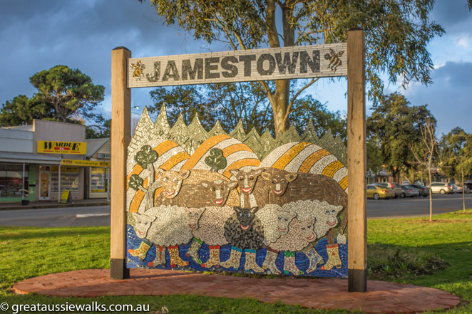 Jamestown, Bundler, South Australia, walk, Hazel Cochrane