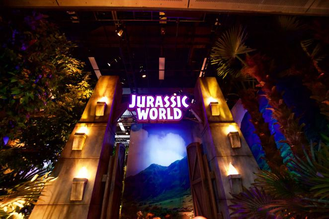Jurassic World the exhibit at Melbourne Museum