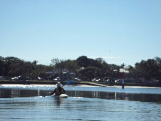 Kayaking at Shorncliffe