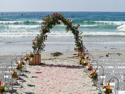 La Jolla, Beach Wedding