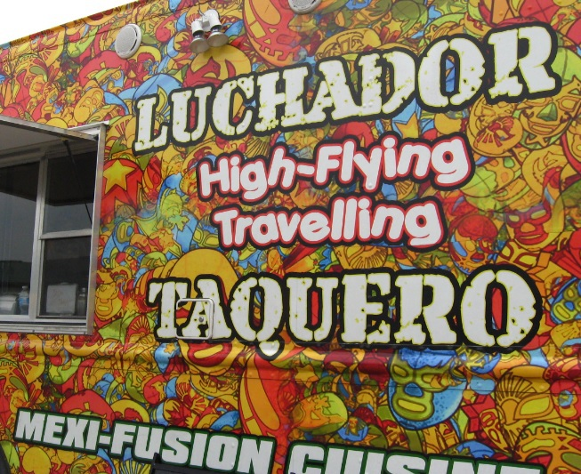Luchador StreatEats, Mexican fusion food, Mexican food truck,