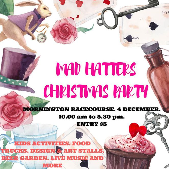 Mad Hatter's Christmas Party