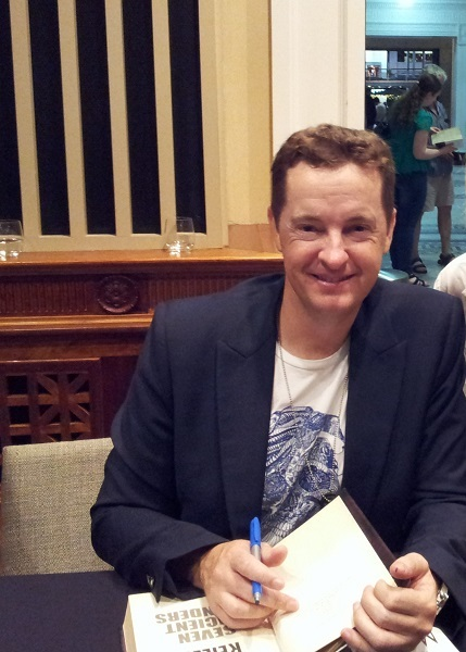 Matthew Reilly, book signing, may cross
