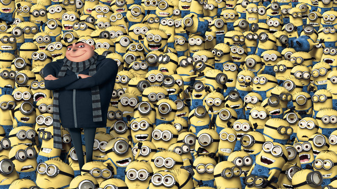 minions, despicable me 2, loveable, yellow, cute, funny, hilarious, comedy, family, children