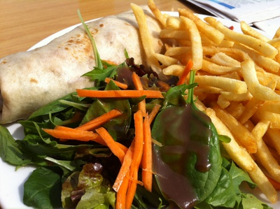 North Bondi RSL Grilled Chicken Wrap