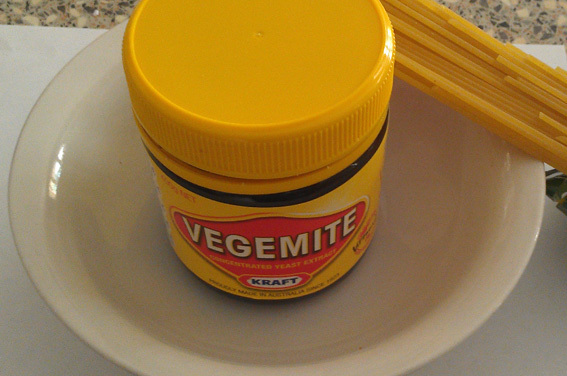 Not so fast Vegemite lovers, even Al Dente does require a little cooking