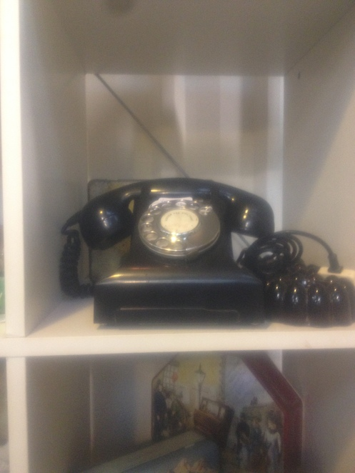 Old telephone at Geelong Vintage Market