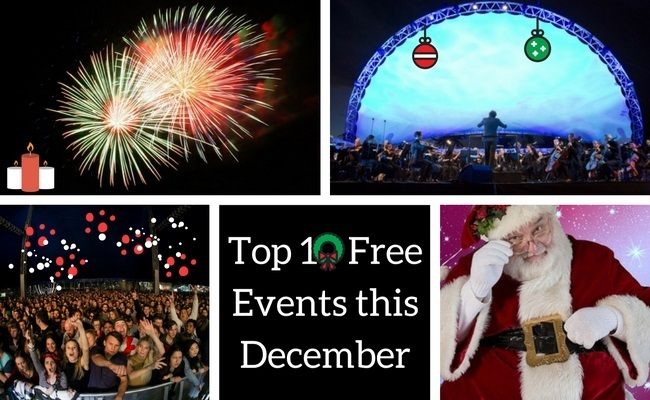 Perth free events December 2017