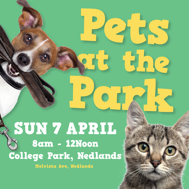 Pets at the Park, dogs, cats, College Park, Nedlands, Claremont, free, vet, family, kids