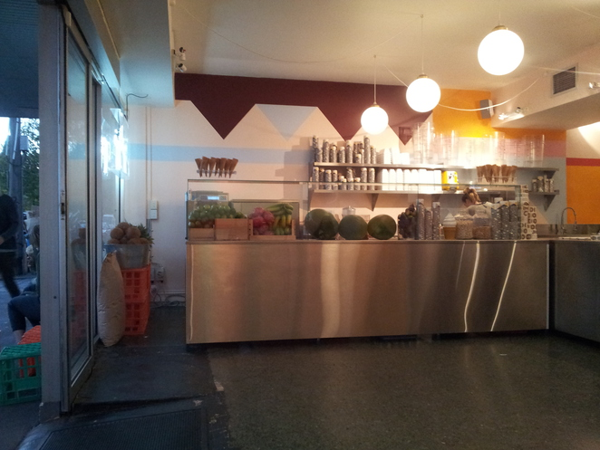 Pidapipo, Gelato, Counter, Faraday Street