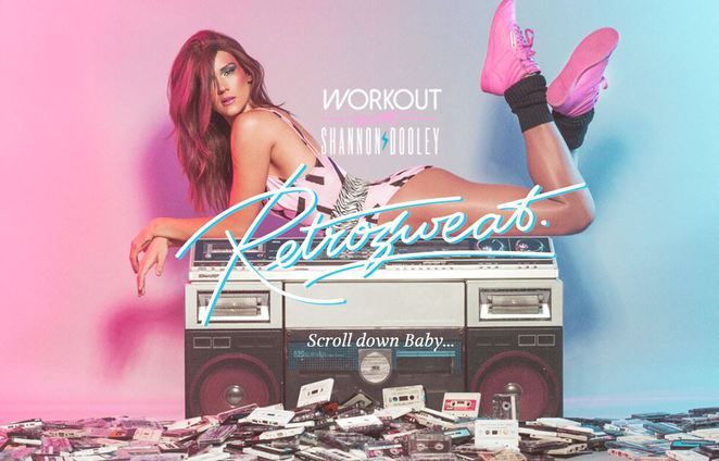 retrosweat, exercise 80's style, aerobics