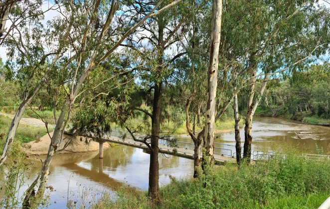 River, bridges, cycleway, cycling, family, free, fun, fitness, Dubbo