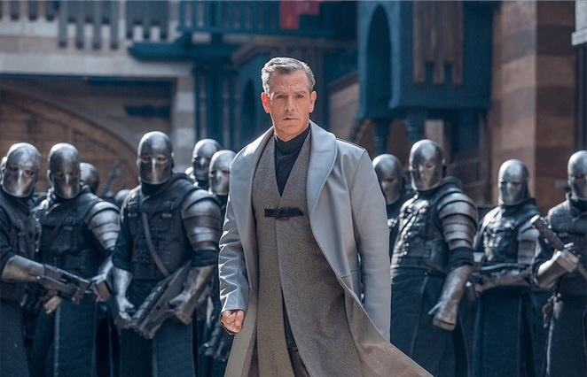 Robin Hood 2018 Film Review Movie Ben Mendelsohn Sheriff of Nottingham