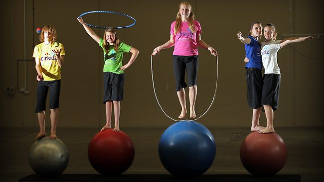 School holiday workshops Cirkidz Adelaide
