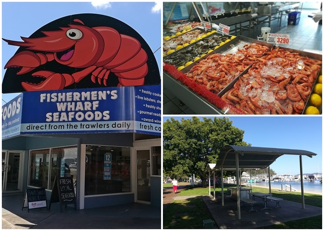 seafood outlets, nelson bay, fishermans co op, fish, seafood, christmas day lunch venues, port stephens, NSW, december 25th,
