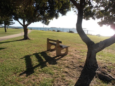 A tranquil spot to relax at Shoalwater.