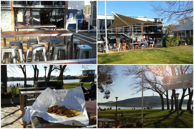 snapper on the lake, fish and chips, canberra, ACT, families, things to do with kids, school holidays, lake burley griffin, places to eat with kids,