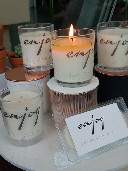 Soy candles, gifts, homewares, suitcase rummage, scented candles, craft, stalls, mini market, federation square, Melbourne,