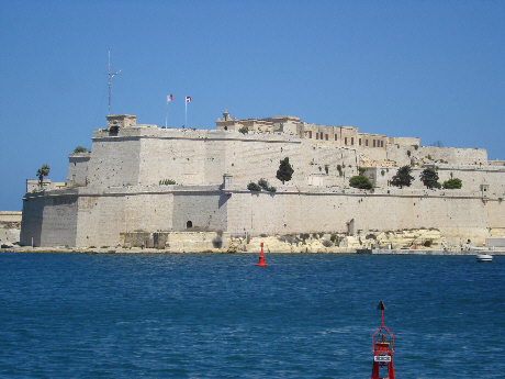 St Angelo's Stronghold on the Grand Harbour