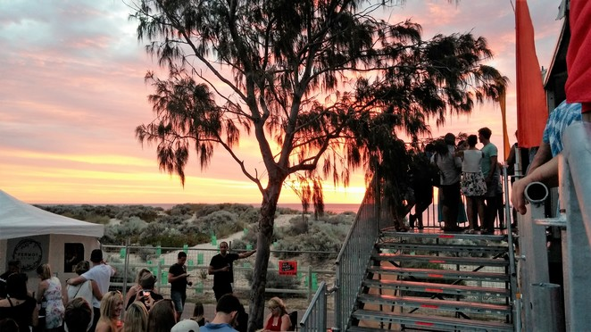 Sunset Wine, Scarborough, wine and food festival, boutique wines, West Australian wine