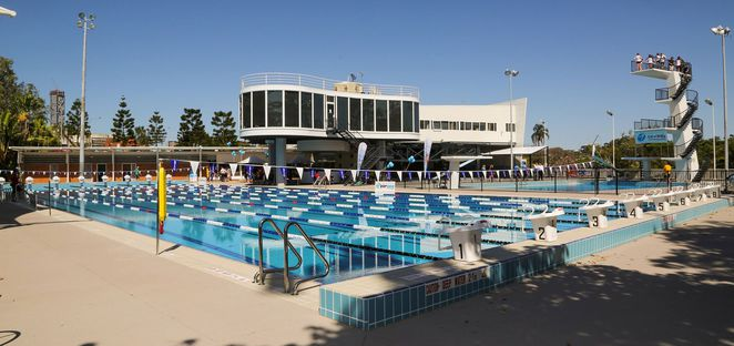 Photo courtesy of Centenary Aquatic Centre