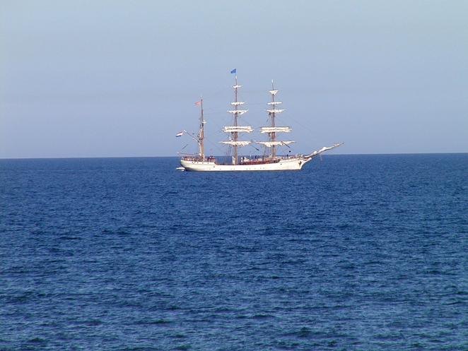 tall ships, dutch tall ships, tall ship, Oosterschelde, tecla, europa, international fleet review, royal australian navy, sailing, glenelg