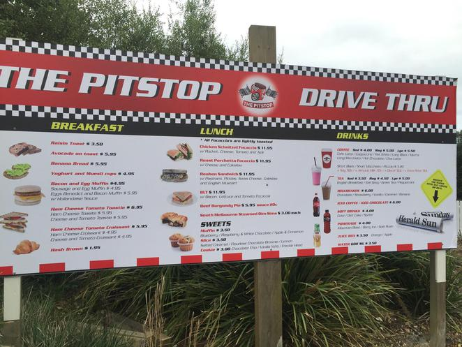 the pitstop, drive thru, macleod