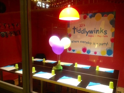 Tiddlywinks Party Room