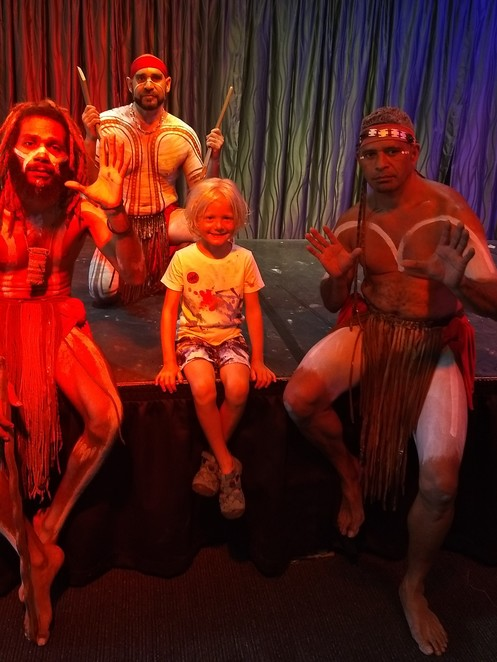 Tjapukai aboriginal cultural centre, Indigenous culture and art, traditional Indigenous story telling and performances, things to do in Cairns, things to do with kids Cairns
