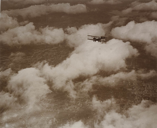 Vickers Vimy over Australia Ross Smith