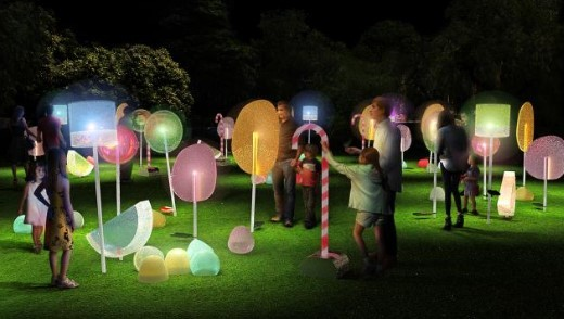VIVID Sydney 2018 Garden of Sweeties