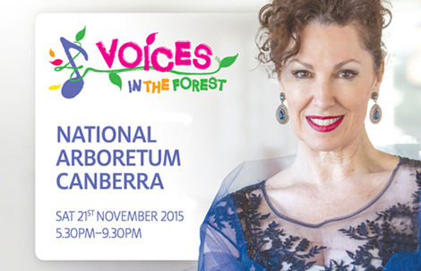 Voices in the Forest, Arboretum, Canberra, Classical music, November 2015 events