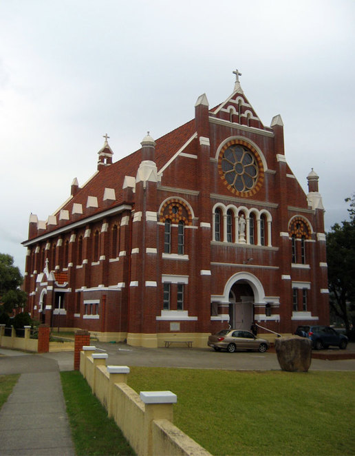 The Sacred Heart Church is one of the highlights of wandering through Rosalie