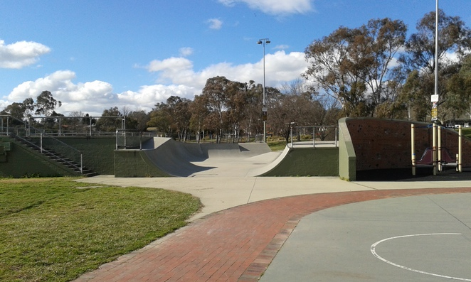 Weston Creek Skate park, Canberra, Weston Creek, what to do with teenagers in Canberra, school holidays